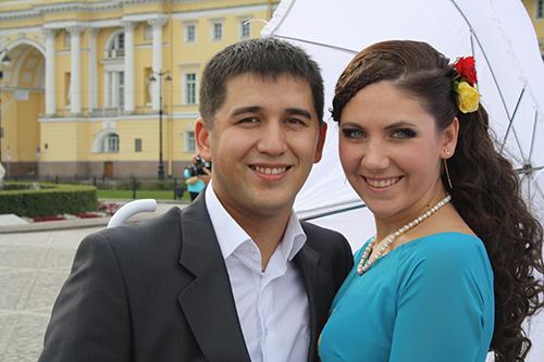 Elvira, một trong những nạn nhân trong thảm kịch máy bay ở Ai Cập, và chồngEugene.Ảnh:Vk.com