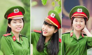 Ba nữ thủ khoa xinh đẹp của Học viện Cảnh sát