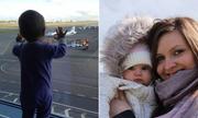 Bé 10 tháng tuổi văng xa 34 km khỏi nơi máy bay Nga rơi