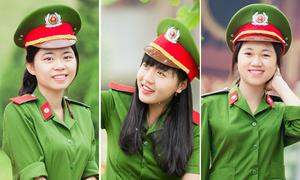 Ba nữ thủ khoa xinh xắn của Học viện Cảnh sát