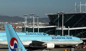 Máy bay Hàn Quốc ngừng hoạt động trong kỳ thi đại học