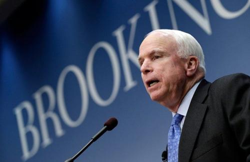 Chủ tịch Ủy ban Quân bị Thượng viện McCain. Ảnh: Themalaymailonline