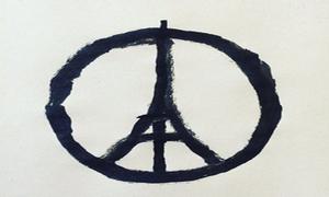 Thế giới truyền đi biểu tượng hòa bình cho Paris