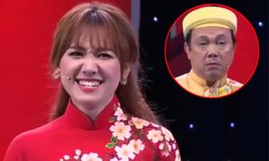 'Hari Won 'điên tiết' khi dạy Chí Tài nói tiếng Hàn' gây cười nhất tuần qua