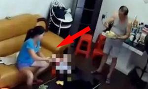 'Con lắp camera phát hiện bố phục vụ nữ giúp việc' nóng nhất mạng XH