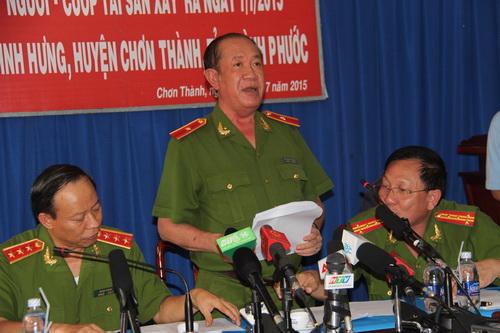 Thiếu tướng Nguyễn Phi Hùng, Trưởng ban chuyên án 109L nay là Phó Tổng cục Cảnh sát hình sự (Bộ Công an). Ảnh: Thái Hà