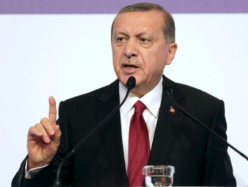 [Caption]Tổng thống Thổ Nhĩ Kỳ Recep Tayyip Erdogan