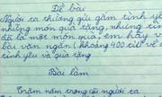 Những bài văn 'bá đạo' của học trò khi bàn về tình yêu