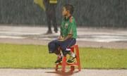 'Em bé nhặt bóng ngồi dầm mưa trong trận cầu V-League' nóng nhất mạng XH trong ngày