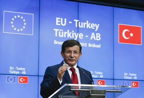 Thủ tướng Thổ Nhĩ Kỳ Ahmet Davutoglu