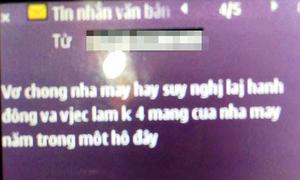 Thầy giáo bị nhắn tin nặc danh khủng bố tinh thần