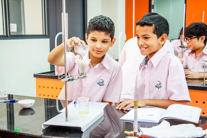 Lớp học hiện đại của trường quốc tế Singapore Hà Nội