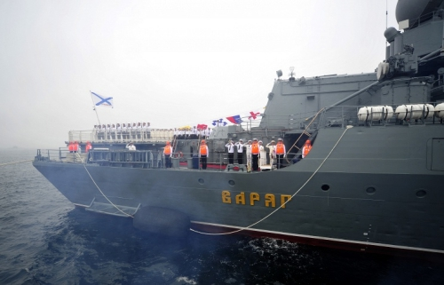 Tàu chiến Nga