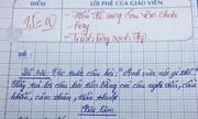 Những bài kiểm tra văn 'khó đỡ' của học trò
