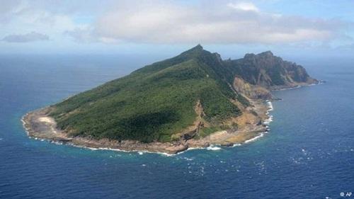 Đảo trên biển Hoa Đông. Ảnh: AP
