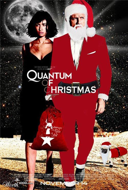 Từ một điệp viên, anh chàng James Bond trở thành... ông già Noel.