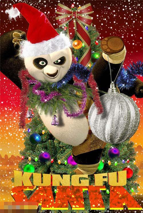 Sư phụ Kungfu Santa.