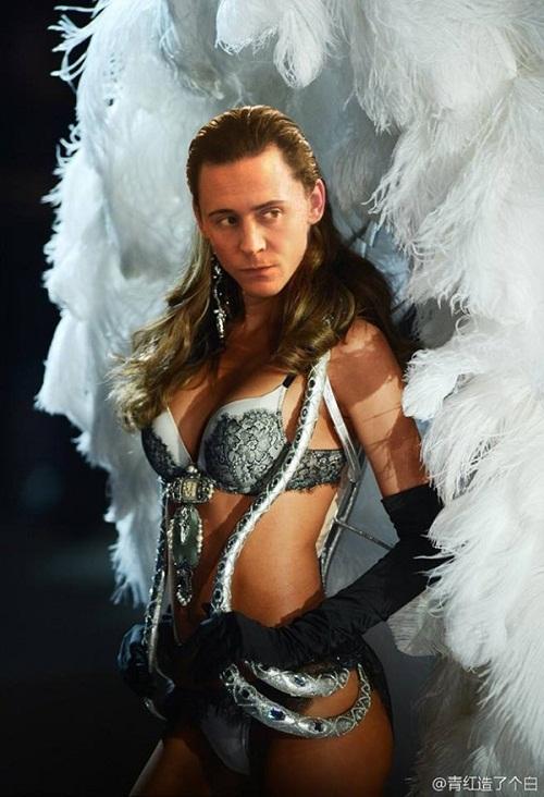 Em trai thần sấm - Loki, khoe vẻ quyến rũ.