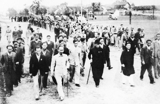 Người Việt Nam lần đầu đi bầu cử 70 năm trước