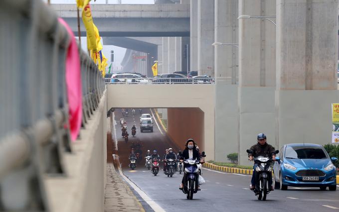 Thông xe hai hầm chui hiện đại nhất thủ đô