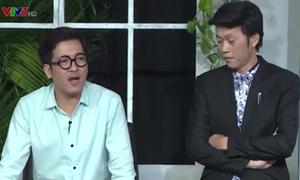 Hoài Linh khốn đốn vì phiên dịch cho thầy hiệu trưởng Trường Giang