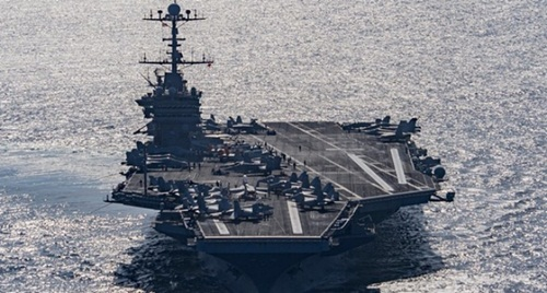 Tàu sân bay Mỹ USS Harry S. Truman.