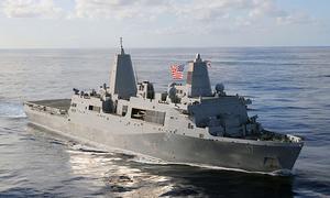 Mỹ tính đóng tàu phòng thủ tên lửa siêu lớn