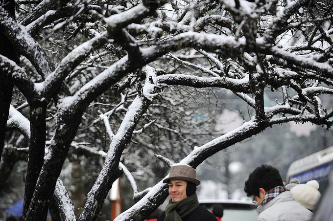 Sa Pa trong tuyết rơi âm 3 độ C