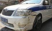 'Ma men' trộm ôtô của CSGT, lao vào trạm thu phí