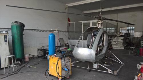 Siêu phẩm máy bay tự chế của hai lúa ở Bình Dương: Cấm bay là đúng