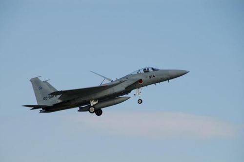 Chiến đấu cơ F-15 của Nhật Bản. Ảnh:Shinji/Flickr
