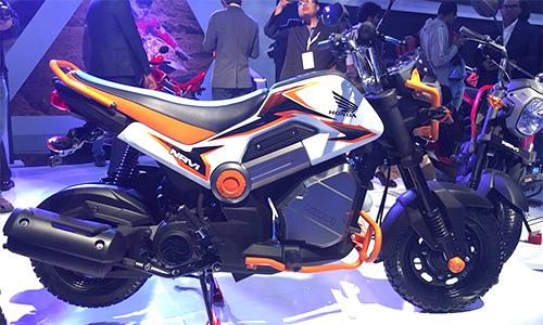 Honda Navi - xe máy lạ giá 580 USD tại Ấn Độ.