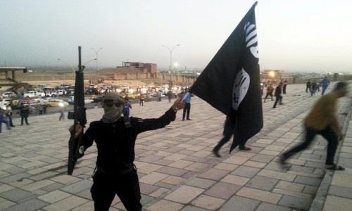 Phiến quân IS ở thành phố Mosul, Iraq. Ảnh: Reuters