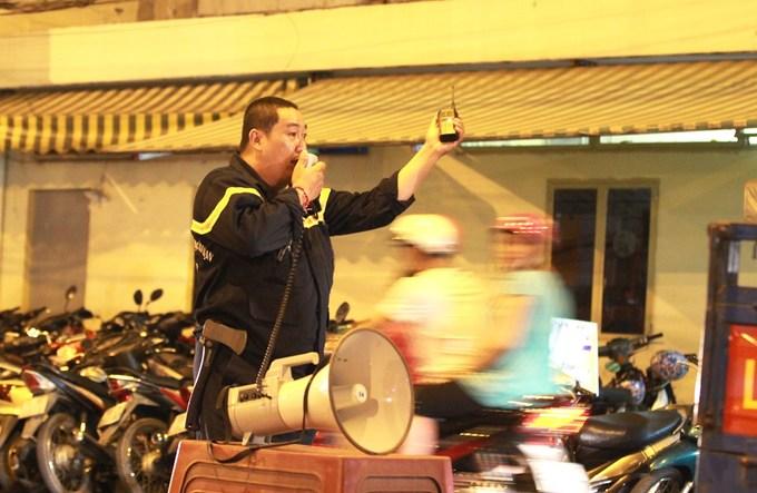 Cảnh sát bảo vệ đêm giao thừa ở TP HCM