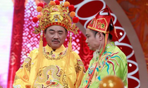 Táo tinh thần Tự Long hát 'Vợ người ta' chầu Ngọc Hoàng