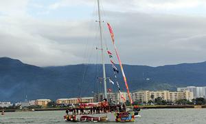 12 thuyền buồm đua vòng quanh thế giới đến Đà Nẵng