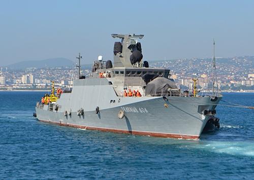 Tàu Zelyony Dol. Ảnh: eng.mil.ru.