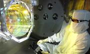 Hệ thống quang học của máy dò sóng hấp dẫn LIGO