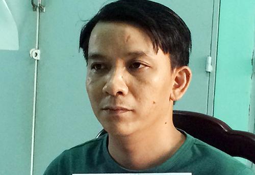 Nguyễn Xuân Lam bị bắt sau 6 năm lẩn trốn. Ảnh: Nguyệt Triều