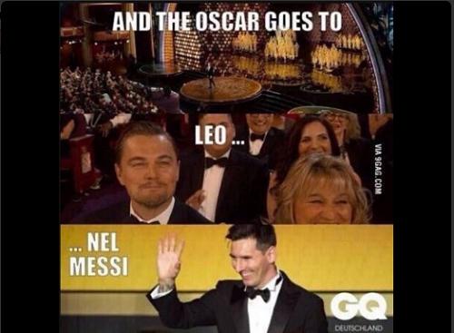 Thậm chí là cầu thủLeonel Messi.
