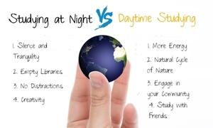 Học vào ban ngày hay ban đêm tốt hơn