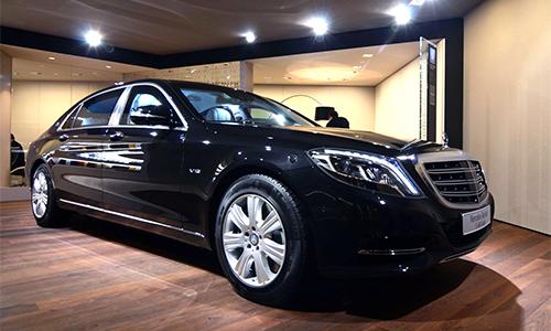 Mercedes-Maybach S600 Guard - xe bọc thép giá 515.000 USD.