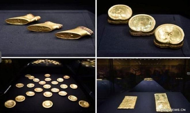 Những báu vật vô giá trong mộ cháu trai Hán Vũ Đế