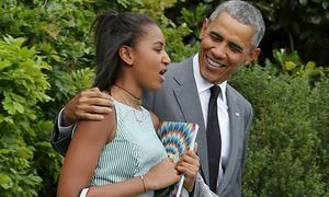 Vì con gái, Obama quyết trụ lại Washington khi mãn nhiệm
