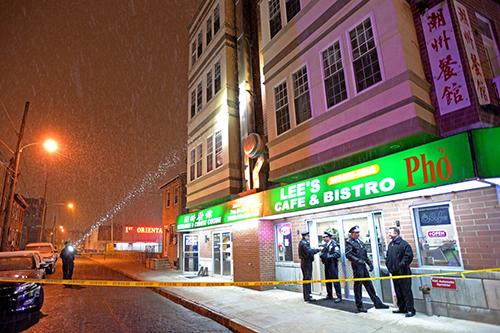Nhà hàngLees Cafe & Bistro ở vùng NamPhiladelphia.