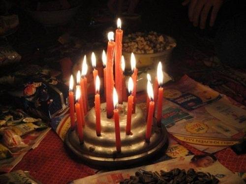 'Bánh sinh nhật' sáng rực rỡ.