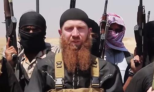 Abu Omar al-Shishani. Ảnh: AFP.