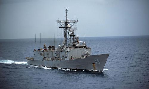 USS Vandegrift, tàu khu trục lớp Perry của Hải quân Mỹ. Ảnh: USNavy