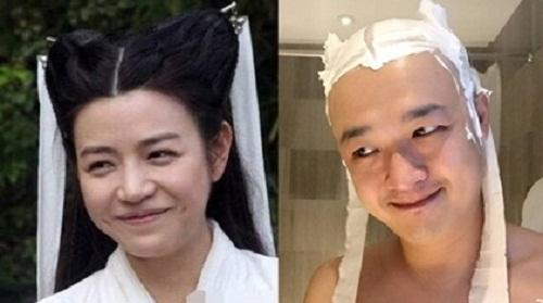 Màn hóa thân thành Tiểu Long Bao 'siêu xuất sắc'.