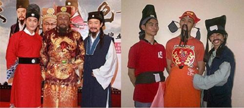 Bộ ba Bao Thanh Thiên thuở cơ hàn.